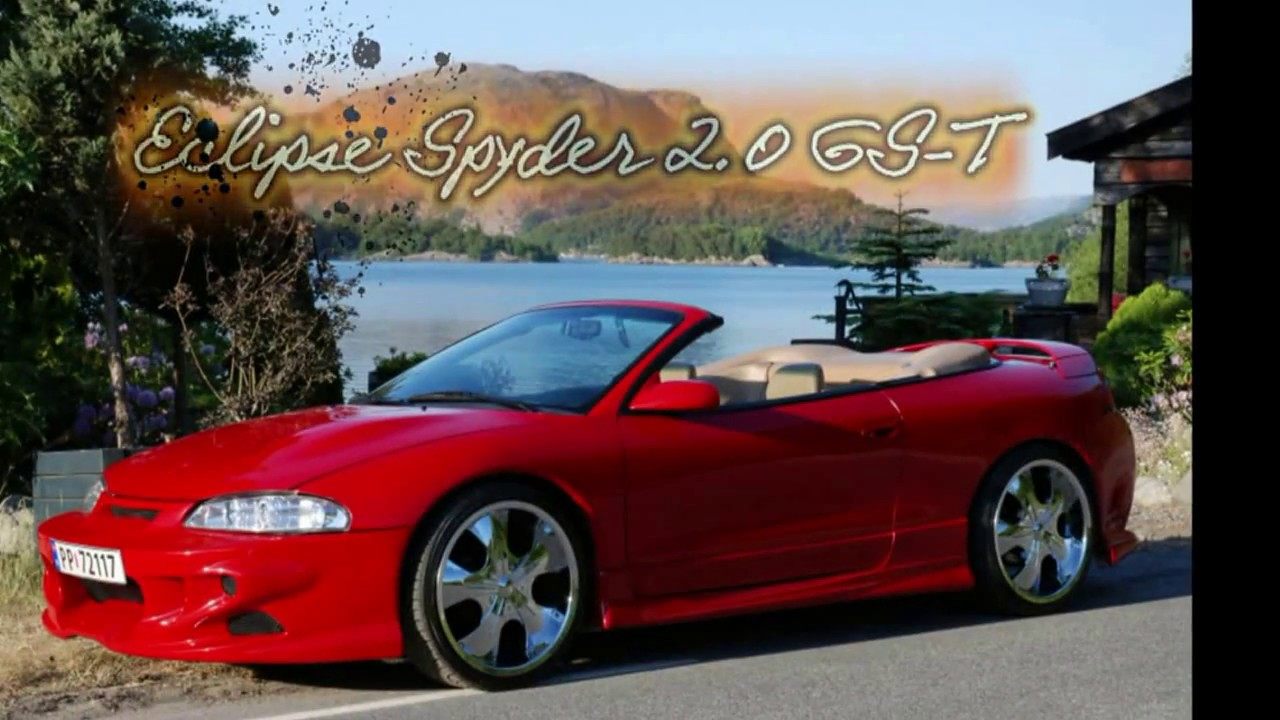 Mitsubishi Eclipse Spyder 2 0 Gs T 1997 2 Gen Hd Version Youtube