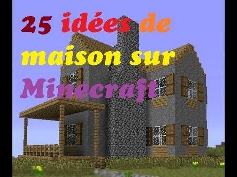 25 id es de maison minecraft comment fr youtube for Construction maison 3d gratuit facile