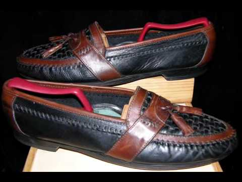 brown tassel loafers. MURPHY Tassel Loafer Black