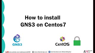 How to install GNS3 on Centos 7