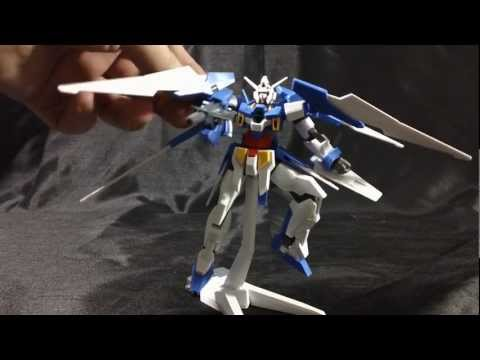 HG 1/144 Gundam AGE-2 Normal - Review Part  2 - Assembly. Transformation & Overall Opinions