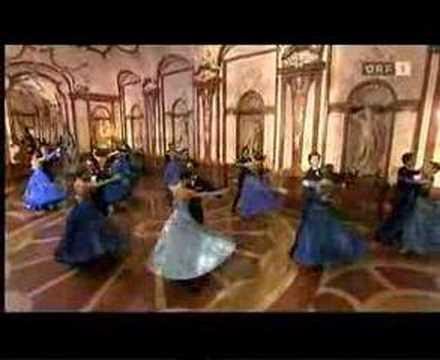 Famous Waltz Blue Danube Strauss - Silvester 2008