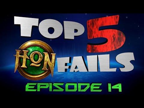 Top 5 HoN Fails Ep.14