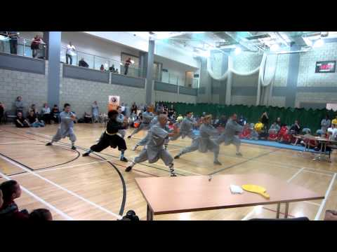 Tang Long BajiQuan at Team Shaolin European Championships 2011 Image 1