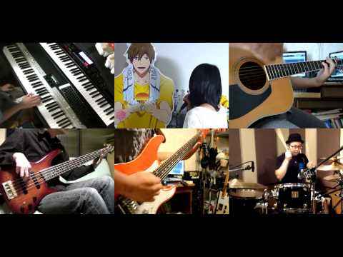 [HD]Rokka No Yuusha OP [Cry For The Truth] Band Cover