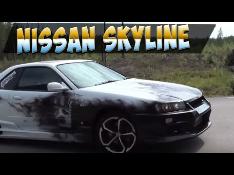 Nissan Skyline R34 GTT - plus cat and new video Video