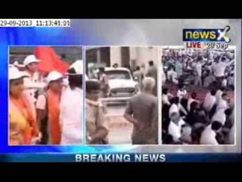 Breaking News : Narendra Modi arrives for Mega Rally in Delhi today