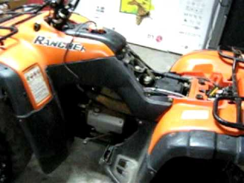 honda rancher tm youtube