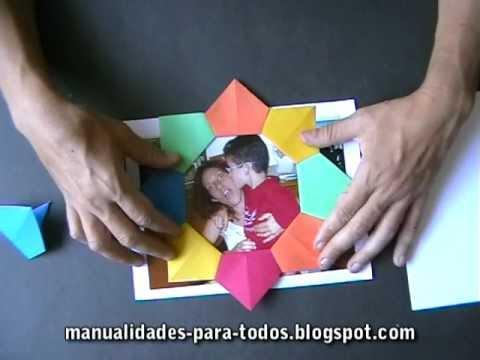 Manualidades dia del padre portaretrato f cil - Regalos para el dia de la madre manualidades ...