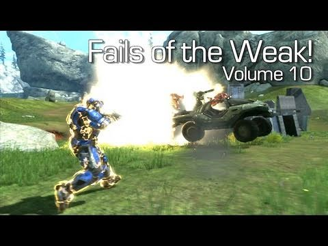 Halo: Reach - Fails of the Weak Volume 10 (Funny Screw-Ups and Bloopers)