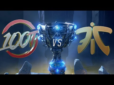 100 vs FNC | Worlds Group Stage Day 2 | 100 Thieves vs Fnatic (2018)