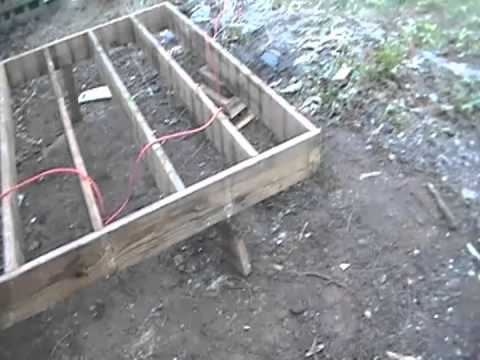 Diy how to build deck using deck blocks no dig youtube 16x16 deck material list