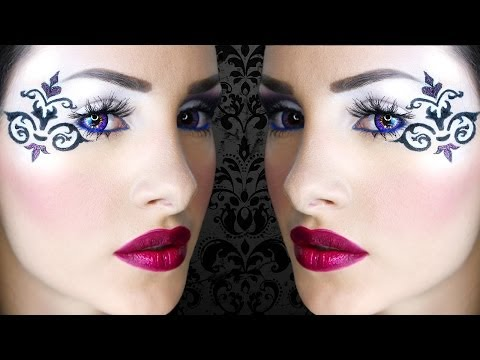 DAMASK | Carnival Makeup tutorial