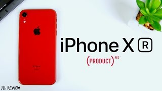 The Product Red iPhone XR is BEAUTIFUL - iPhone XR Unboxing & First Impressions