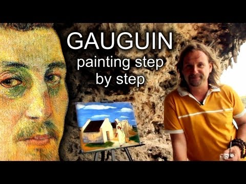 PAUL GAUGUIN painting step by step