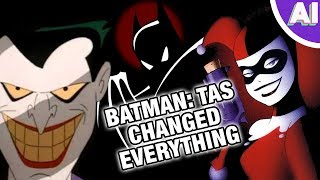 Why Batman The Animated Series Is the Most Influential Cartoon of All Time (Animation Investigation)