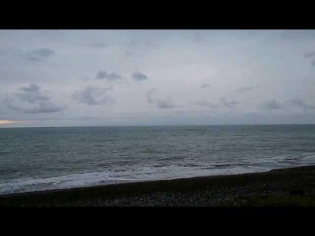 Море в последний день зимы в Лазаревском