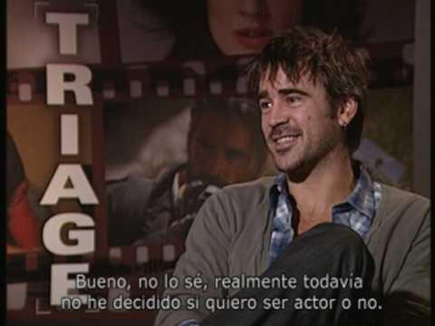 Entrevista Colin Farrell con motivo de la presentación de Triage en el Festival de Sevilla