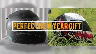 Full Face Helmet Restoration  ||  Venom Replica