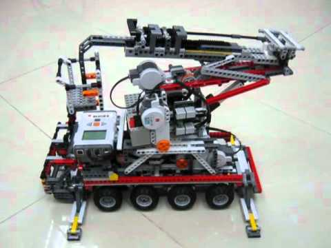 LEGO NXT Platform Vehicle