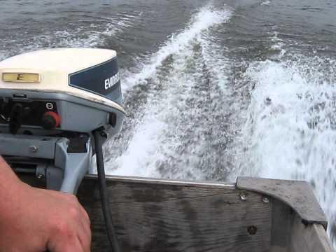 1984 Mercury 115 Boat motor tilt trim - YouTube