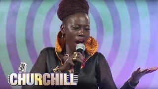 Akothe performs Djele Djele On Churchill Show