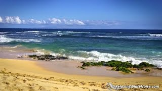 Ocean Sleep Sounds White Noise Waves Crashing On Beach In Hawaii For Sleeping Relaxation