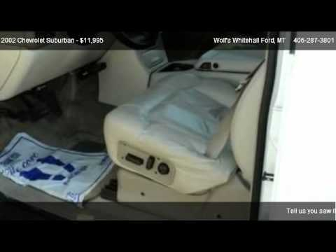 2002 Chevrolet Suburban Base - for sale in Whitehall, MT 59759