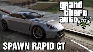 GTA 5 Cellphone Cheats - Spawn Rapid GT (GTA V on PS4)