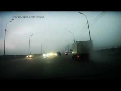 Подборка ДТП с видеорегистраторов 12