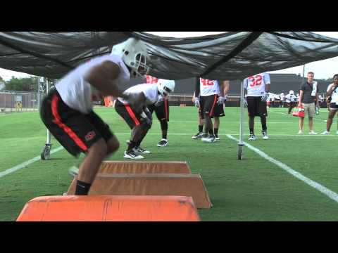 Oklahoma State Football: Fall Practice 8/3/12
