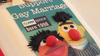 Bakers Face Prosecution for Refusing to Bake Sesame Street Gay Wedding Cake