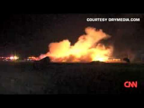 Explosion on Refinery in Mexico! Like an Action M