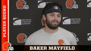 "Baker Mayfield: ""OBJ has another notch of speed when the lights come on"""