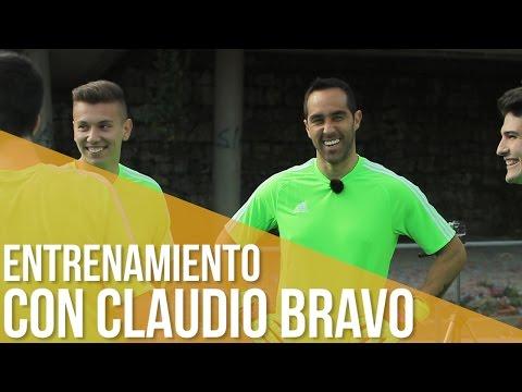 ¡Domina la portería! - Entrenamiento con Claudio Bravo (adidas)