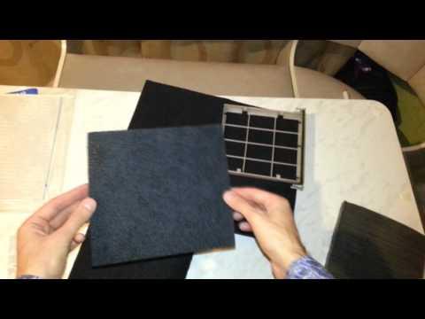Угольный салонный фильтр своими руками