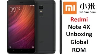 Unboxing Review 4K : Xiaomi Redmi Note 4X Global 3GB / 32GB Snapdragon 625 MIUI8 4100mAh QC3.0