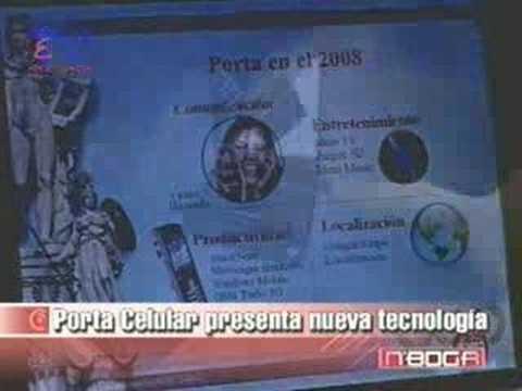 Porta celular presenta nueva tecnología