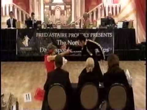 Tao-Porchon Lynch dances paso doble at 91 years young