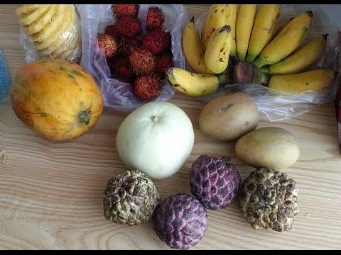 Экзотические фрукты Вьетнама (Нячанг). Вкусные