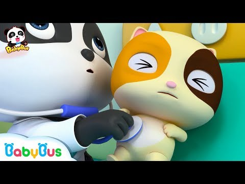티미의 건강검진 키키묘묘 의사놀이 생활습관 진찰송 베이비버스 인기동요 BabyBus