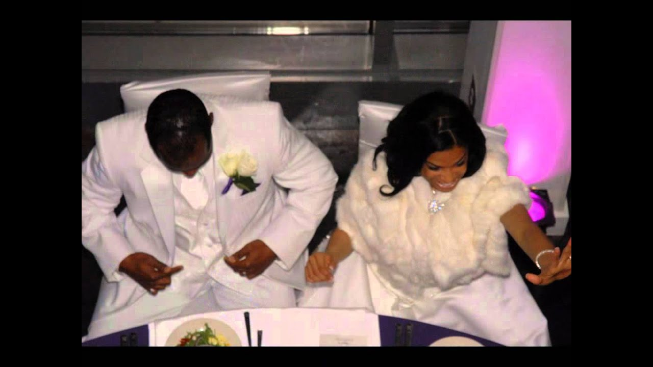 Shamari devoe wedding