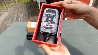 UNBOXING NOCO GENIUS G750 BATTERY CHARGER