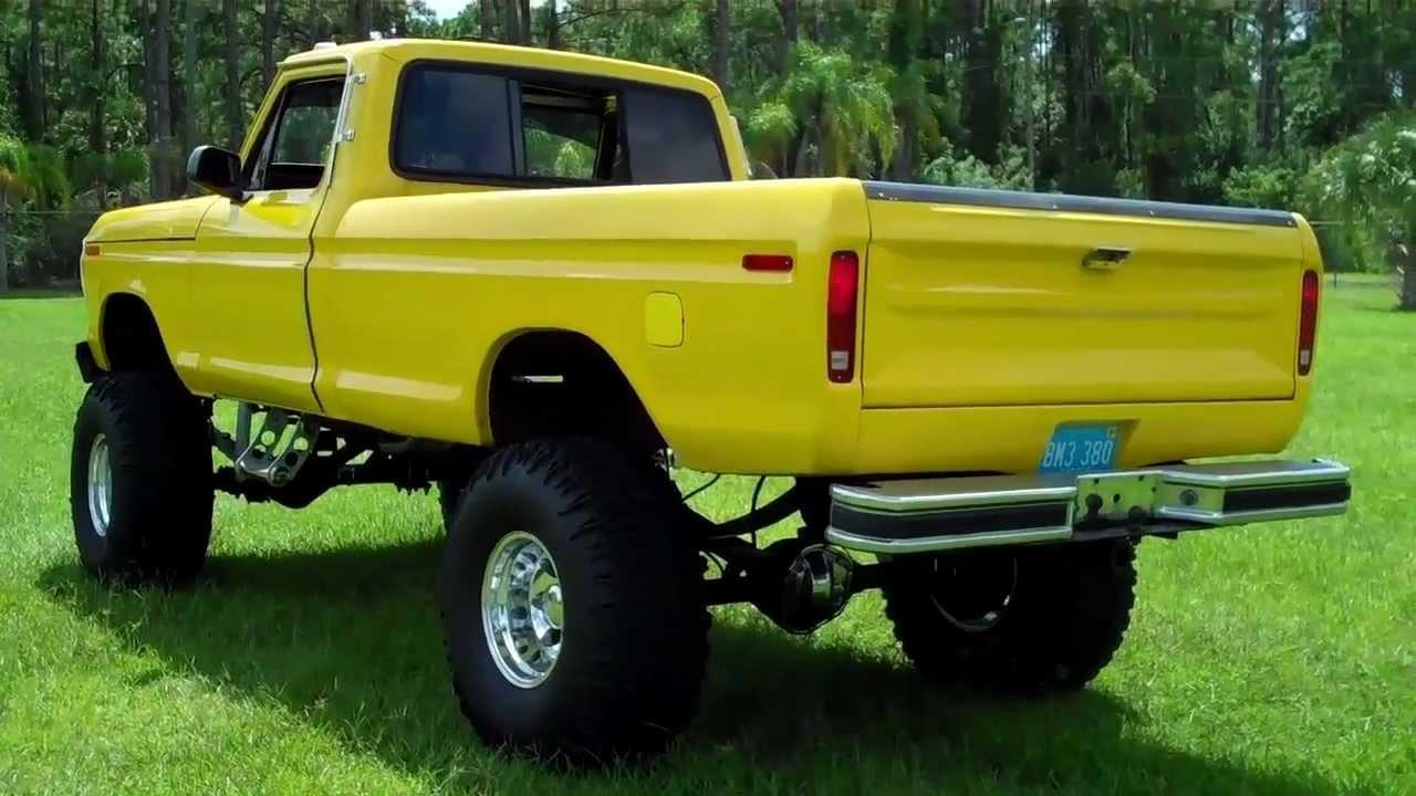 1979 ford f250 460 500hp - YouTube
