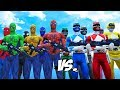 MIGHTY MORPHIN POWER RANGERS VS SPIDER MAN, BLUE SPIDERMAN, GREEN SPIDERMAN, YELLOW SPIDERMAN