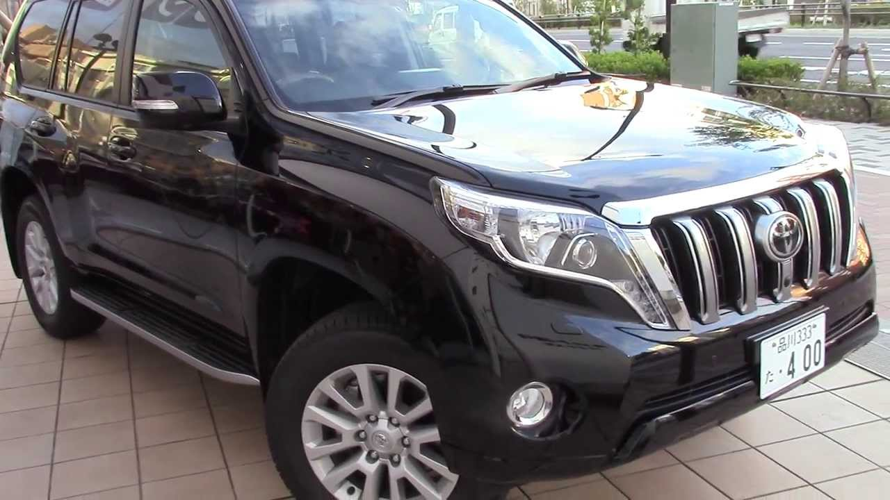 Sep 2013 New Toyota Land Cruiser Prado Youtube