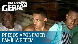 Bandidos são presos após fazer família refém na Bahia