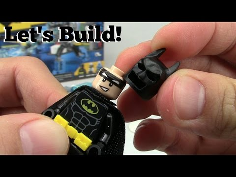 THE LEGO BATMAN MOVIE: Mr. Freeze Ice Attack 70901- Let's Build!