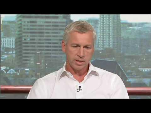 Goals on Sunday - Alan Pardew talking about Southampton's finances.