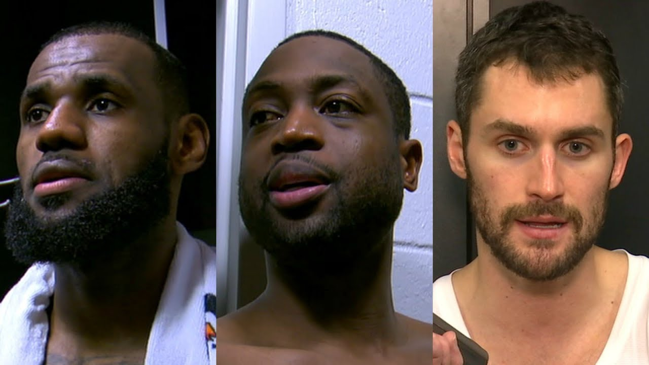 Dwyane Wade, LeBron James and Kevin Love talk Cavaliers' winning streak | ESPN